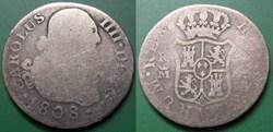 Espagne 2 Réales Charles IIII 1808