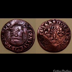 Dombes Gaston d'Orléans double tournois ...