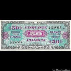 50 Francs FRANCE