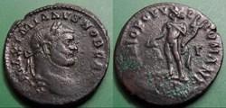 G- Le Bas Empire Galère Maximien Follis