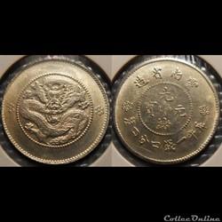 Chine yun-nan 20 Cents Faux?