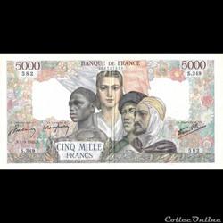 5000 Francs Union Française