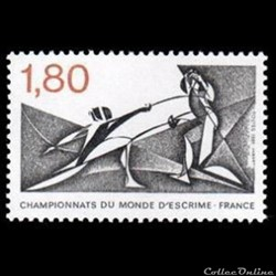 1981 Championnats du monde d'escrime France