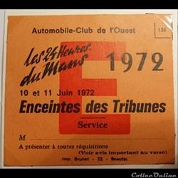 24 Heures du Mans 1972