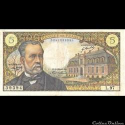 5 francs Pasteur