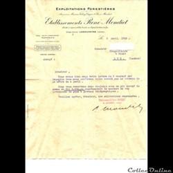 Vieux papiers: Labouheyre Etablissements...
