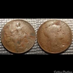 Ca 5 centimes Dupuis 1916
