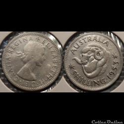 Australie 1 Shilling 1953