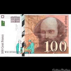 100 Francs Césanne