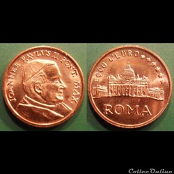 e- J etr Vatican ECCO L'EURO ROMA