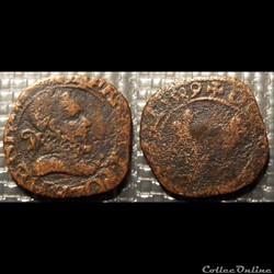 E3 Henri III Double Tournois 1589 La Roc...