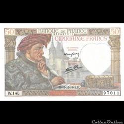 50 Francs Jacques Coeur