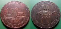 e- J etr Grande Bretagne Cornish Penny 1...