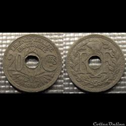 Ed 20 centimes EM Lindauer 1946 24mm 3g