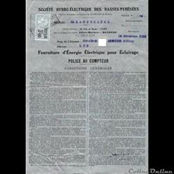 Vieux papiers: Labouheyre Police au comp...