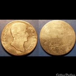 D-Napoléon I 1 Franc Premier Empire Empe...