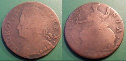 Grande Bretagne 1/2 Penny 1748