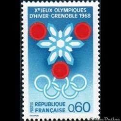 1967 Prélude aux Jeux Olympiques d'hiver à Grenoble
