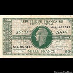 1000 Francs Marianne France