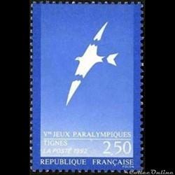 1991 Vème Jeux Paralympiques Tignes