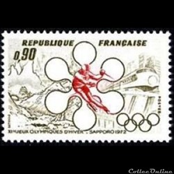 1972 XI èmes Jeux Olympiques d'hiver Sapporo