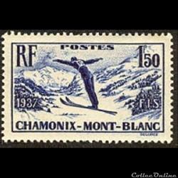 1937 Championnats internationaux de ski à Chamonix