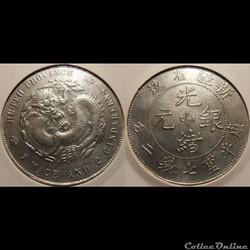 Chine Hu-Peh 1 Dollar Faux?