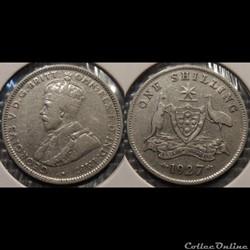 Australie 1 Shilling 1927
