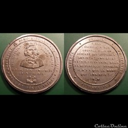 Médaille Citoyen Lagrange Révolution 184...