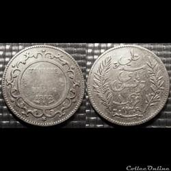 Tunisie 1 Franc 1892A