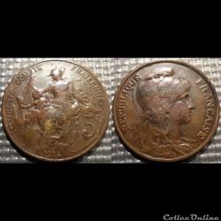 Ca 5 centimes Dupuis 1914