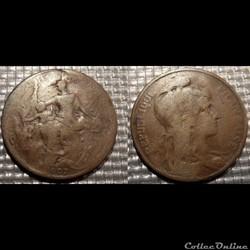Ca 5 centimes Dupuis 1907