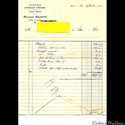 Vieux papiers: Luë Entreprise Bernard Ba...