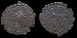 Tétricus - Antoninien fauté (HILARITAS A...