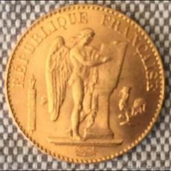 20 francs 1897