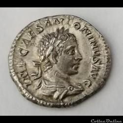 Denier Elagabal.