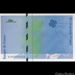 F.72.01b ( B. n°002976510 )Fauté 1992