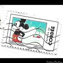Mickey et la France - premier de cordée