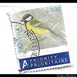 SUISSE - Helvétia - oiseau