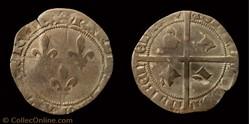 """Charles VII """"le Victorieux""""- Plaque ou D..."""