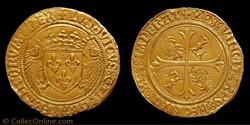 Louis XII - Écu d'or au porc épic