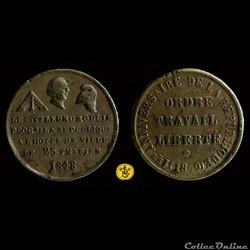 24 et 25 Février 1849 - 1er Anniversaire de la République