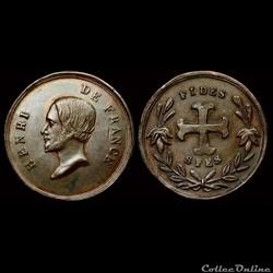1848 - Médailles de personnages divers