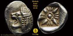 Diobole ou 1/12e de statère de la Ville ...