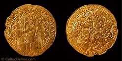 """Charles V """"le Sage"""" - Franc à pied"""