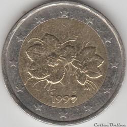2 euros 1999