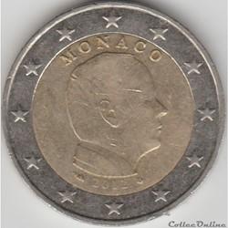 2 euros 2012