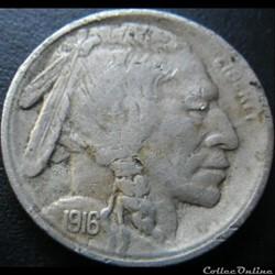 1916 San Francisco 5 Cents