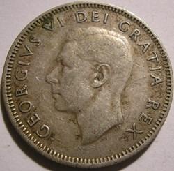 George VI - 25 Cents 1951