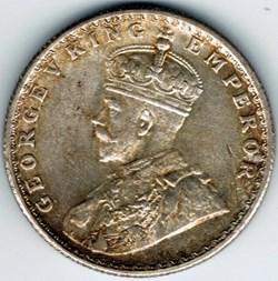 George V - Half Rupee 1919 Bombay - Brit...